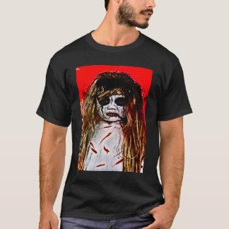Haunted Evil Ghost Girl Airbrush Art T-Shirt