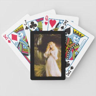 Haunted Eyes Ophelia Bicycle Playing Cards