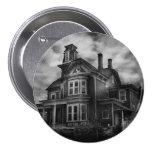 Haunted - Flemington, NJ - Spooky Town 3 Inch Round Button