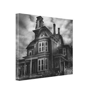 Haunted - Flemington, NJ - Spooky Town Canvas Print