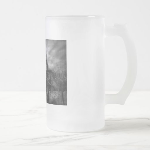 Haunted - Flemington, NJ - Spooky Town 16 Oz Frosted Glass Beer Mug