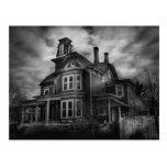 Haunted - Flemington, NJ - Spooky Town Postcard