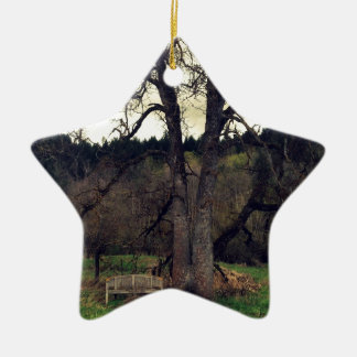 Haunted Forrest Ceramic Ornament