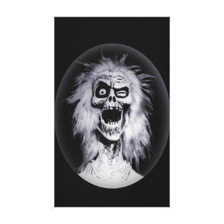 Haunted Ghost Matriarch Mansion Portrait Canvas Print