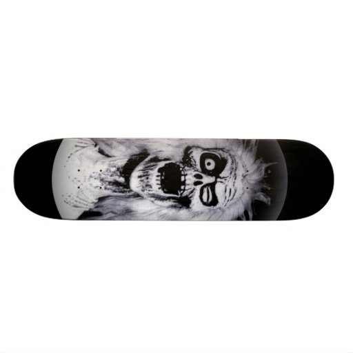 Haunted Ghost Matriarch Mansion Skateboard