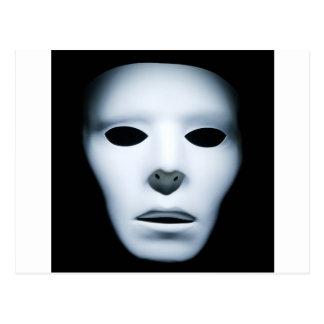 Haunted Ghostly Like Face.jpg Postcard