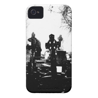 Haunted Gothic Cemetery Graveyard Blackberry Cases
