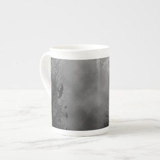Haunted Gothic Sky Tea Cup
