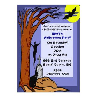 Haunted Grave Party Invitation