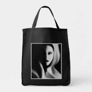 Haunted Grocery Tote Bag