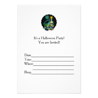 Haunted Halloween Card