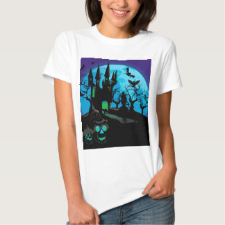 Haunted Halloween Castle 4 Tshirts
