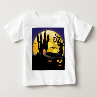 Haunted halloween Castle Infant T-shirt