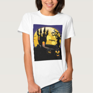 Haunted halloween Castle T-shirt