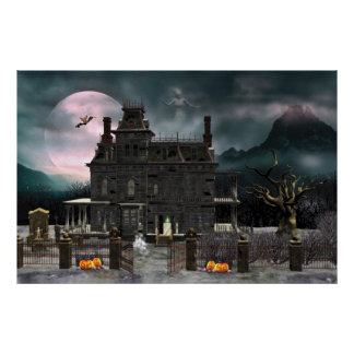 Haunted Halloween House 2 Poster