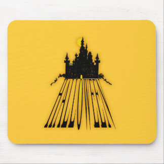 Haunted Halloween Mouse Pad