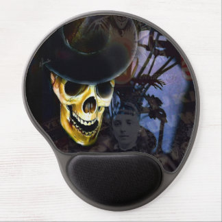 Haunted Halloween Mouse Pad Gel Mouse Pad