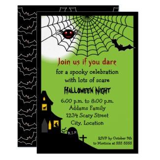 Haunted Halloween Party Invitation