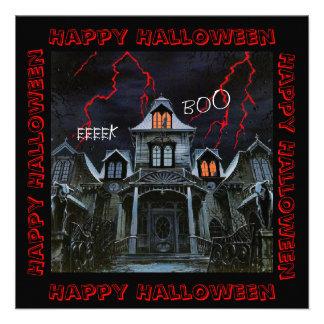Haunted Halloween Personalized Invitation