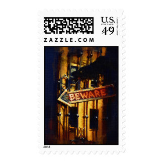 Haunted Halloween Stamps