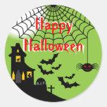 Haunted Halloween Stickers