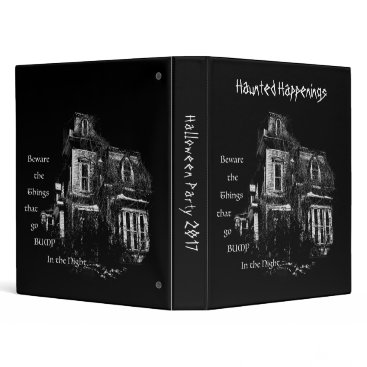 Halloween Themed Haunted Happenings Binder