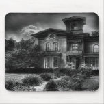 Haunted - Haunted House Mouse Pads