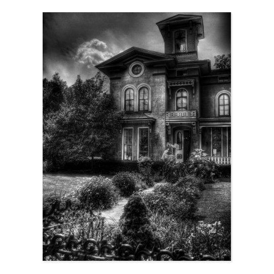 Haunted - Haunted House Postcard