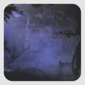 Haunted Hill House Stickers