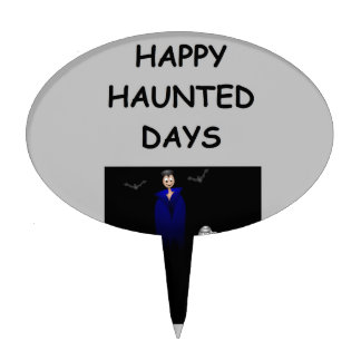 haunted holidays cake toppers