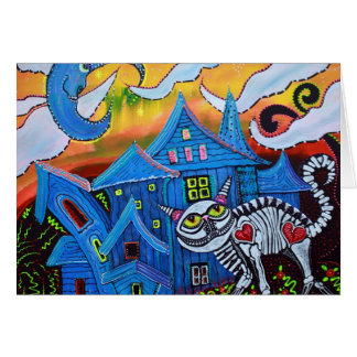 Haunted Hollow Greeting Cards