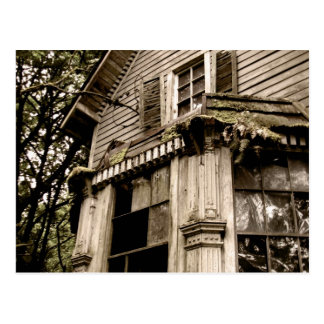 Haunted Home Postcard