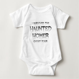 Haunted Homer Ghost Tour 100%Cotton Infant Apparel Baby Bodysuit
