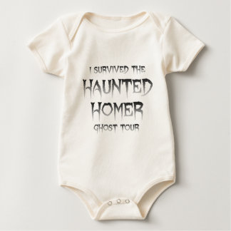 Haunted Homer Ghost Tour Infant Organic Creeper