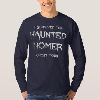 Haunted Homer Ghost Tour Long Sleeve Tee