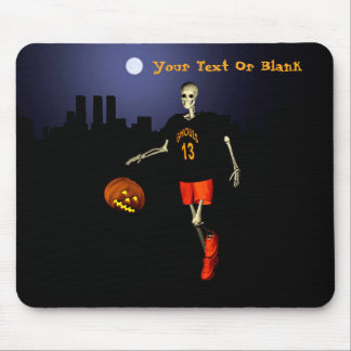 Haunted Hoops Mouse Pad