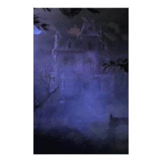 haunted-house01 stationery