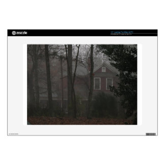 "haunted house 15"" laptop decals"