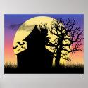 Haunted House Afternoon Poster Print (<em>$23.60</em>)
