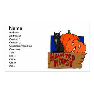 Haunted House Business Card