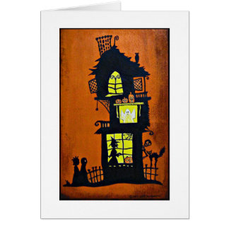 """""""Haunted House"""" Card"""