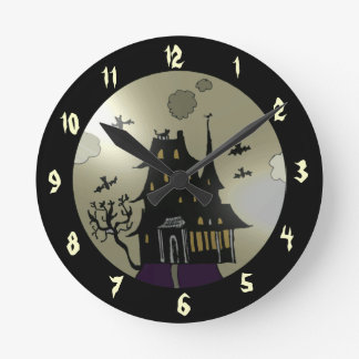 Haunted House Clock