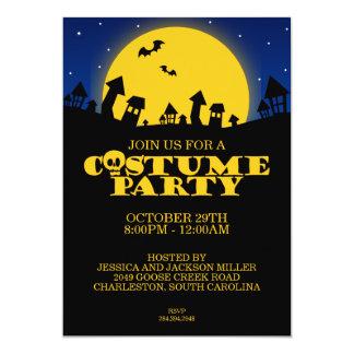 Haunted House Costume Party Halloween Invitation
