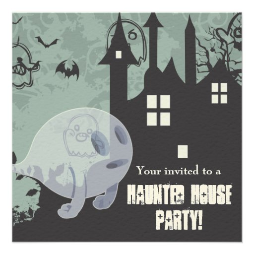 Haunted House Custom Announcements