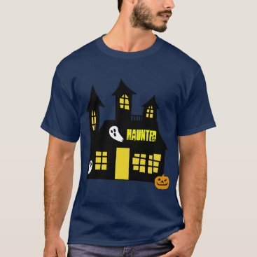 Halloween Themed Haunted house design  T-shirt