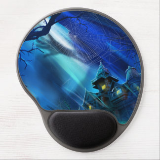 Haunted House Gel Mouse Pad