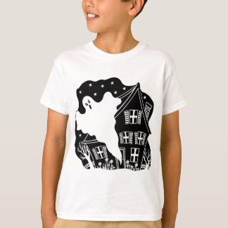 Haunted House Ghost Tee Shirt