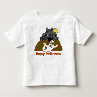 Haunted House Ghost Toddler T-shirt