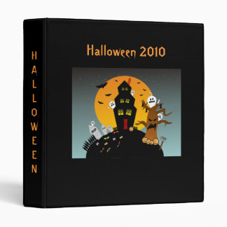 Haunted House Halloween 2010 Binder