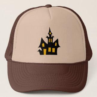 Haunted  House - Halloween Fun Trucker Hat